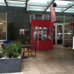 A winter vestibule for Dewey's Pub by NYC Signs & Awnings