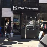 A winter vestibule for Food for Humans by NYC Signs & Awnings