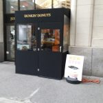 A winter vestibule enclosure for Dunkin Donuts by NYC Signs & Awnings