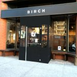 A winter vestibule enclosure for the Birch by NYC Signs & Awnings
