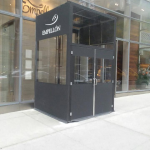 A winter vestibule enclosure for Empellon by NYC Signs & Awnings