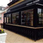 A winter vestibule enclosure for Ristorante Italiano by NYC Signs & Awnings