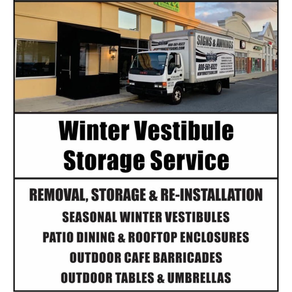Winter Vestibule Storage